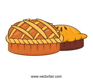 thanksgiving sweet pies delicious icons