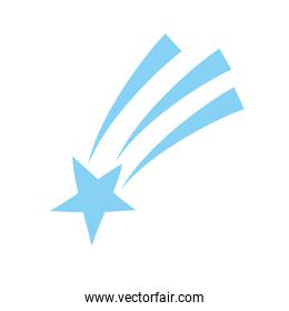Shooting Star speed isolated icon