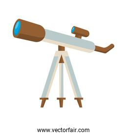 telescope device science isolated icon