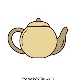 tea, teapot hot beverage fresh line and fill