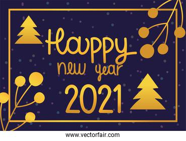 happy new year 2021, greeting card party celebration