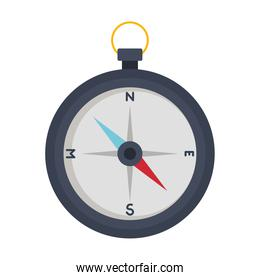 Isolated compass instrument vector design