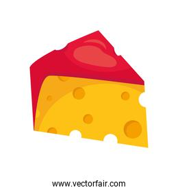 Isolated cheese icon vector design