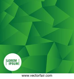 background green abstract polygonal geometric