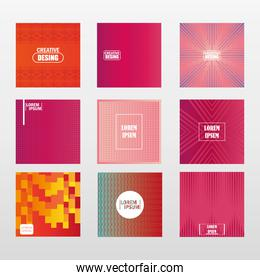 backgrounds abstract geometric pattern with line texture for business brochure cover design