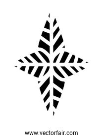 leafs plant nature line style icon