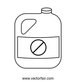 gallon of gardening product line style icon