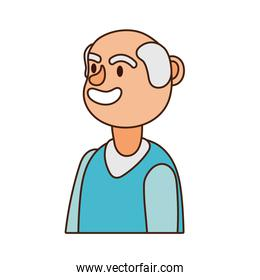 old man person avatar character