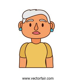 old woman person avatar character