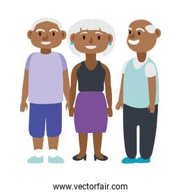 afro old people persons avatars characters