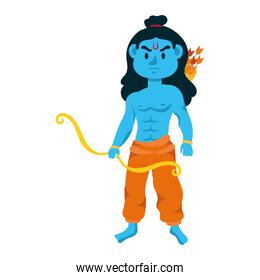 rama god with arch character