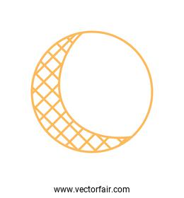 abstract circle grid element decoration line design