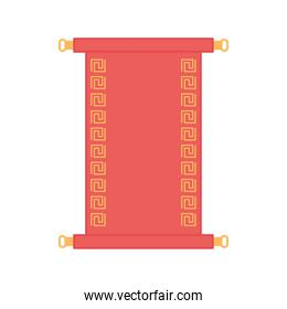 traditional scroll oriental element decoration color design