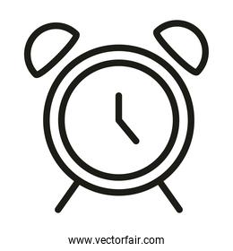 user interface alarm clock time linear style