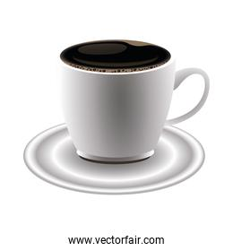 coffee ceramic cup drink icon