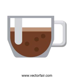 taepot with coffee drink icon