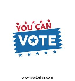 you can vote word election day with stars