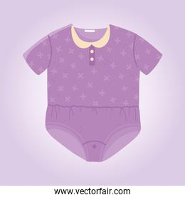 baby shower, purple bodysuit clothes small