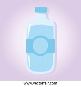 water bottle product, grocery purchases
