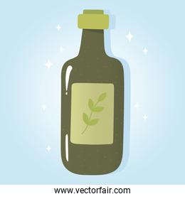 olive oil bottle product, grocery purchases