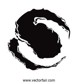 strokes black ink abstract drawn element icon