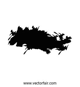 brush strokes watercolor background black paint