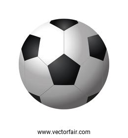 football ball sport equiment detailed design icon