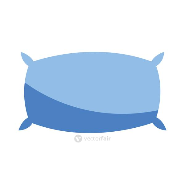 comfortable pillow element isolated icon