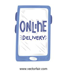 new normal, smartphone app online delivery, after coronavirus covid 19
