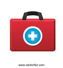 first AID package icon on white background