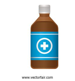 first AID flu icon in white background