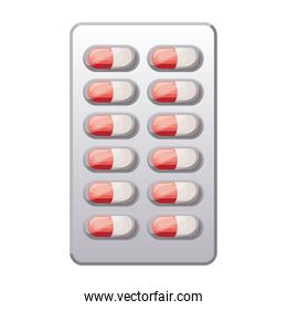 first AID pill chart icon