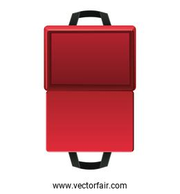 first AID empty package icon on white background