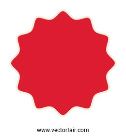 seal stamp of red color