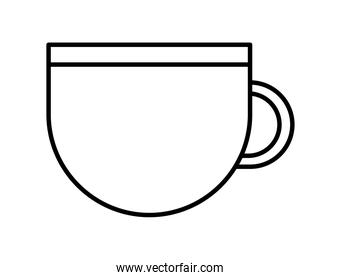 cup icon on white background