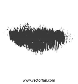 scribble stain grunge texture icon white background