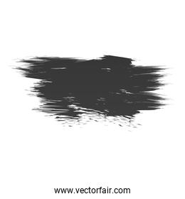 scribble stain brush hand drawn icon white background