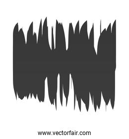 scribble stain handdrawn strokes icon white background