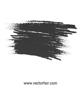 scribble stain brushes sketch icon white background