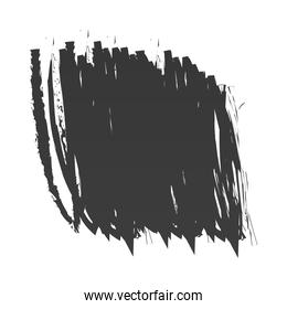 scribble stain strokes with a dry brush