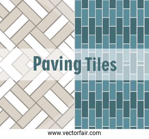 paving tiles brick textures decoration pattern