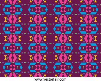 colorful geometric and abstract seamless pattern
