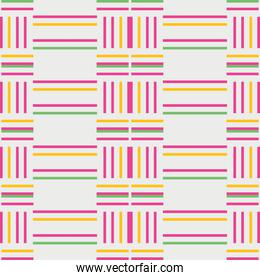 colorful lines seamless pattern design