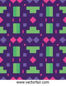 green and purple seamless pattern, colorful design