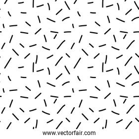 Trendy texture with random short lines, Abstract geometric seamless pattern