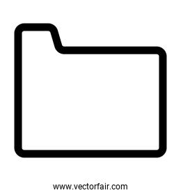 folder file document line style icon
