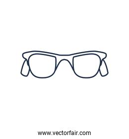 glasses   line style icon on white background