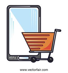 online shopping smartphone, new normal after coronavirus covid 19