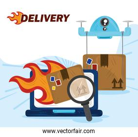 online fast delivery service order cargo related