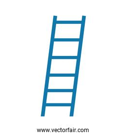 ladder tool repair and construction icon isolated design